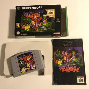 Nintendo 64 Spil I Kasse