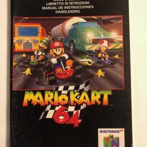 Nintendo 64 Manualer